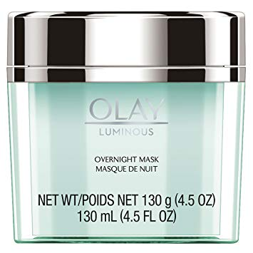 Face Mask Gel by Olay Luminous, Overnight Facial Moisturizer for Brighter Skin, 4.5 Ounce...