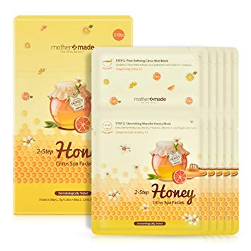 MOTHER MADE 2-Step Honey Citrus Spa Facial Mask