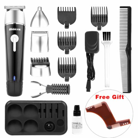 Abbicen New 5 in 1 Multi-functional Beard Trimmer Men's