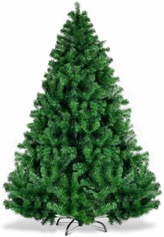 Goplus Christmas Tree Unlit Artificial