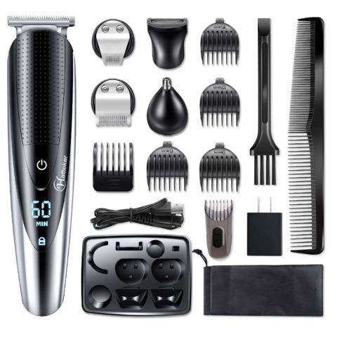 Hatteker Mens Beard Trimmer Grooming kit