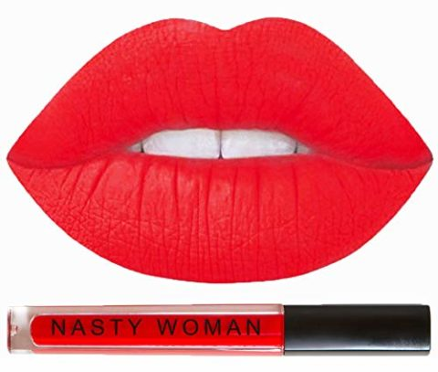 Matte Lipstick Nasty Woman Cosmetics Long Lasting Matte Liquid Lipstick Waterproof