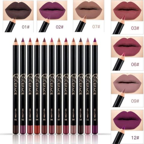 NICEFACE 12 Color Lip Pencil