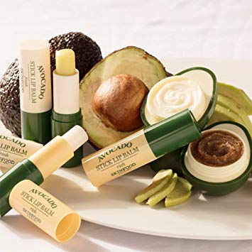 SKIN FOOD Premium Avocado Rich Lip Scrub 14g