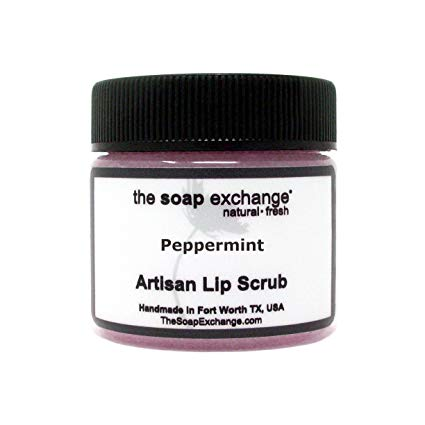 The Soap Exchange Lip Scrub - Peppermint Flavor