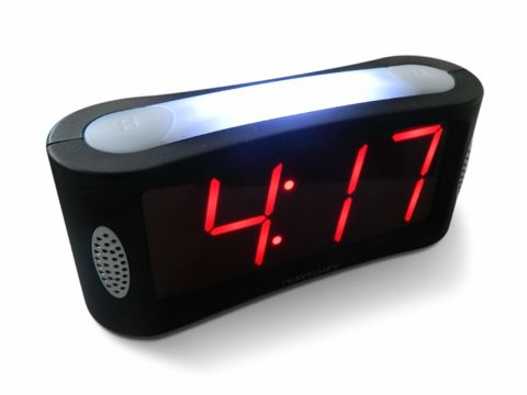 Travelwey Home LED Digital Alarm Clock