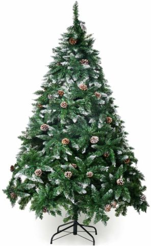 Winregh 4,5,6,7.5 Foot Artificial Christmas Tree
