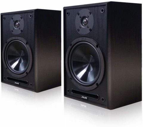 AVX Audio 6.5 Inch Bookshelf Speaker Pair