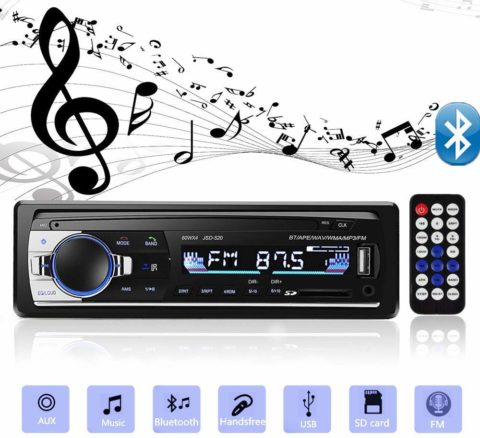 Aigoss Bluetooth Car Stereo