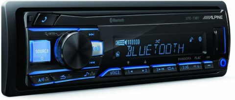 Alpine UTE-73BT Advanced Bluetooth