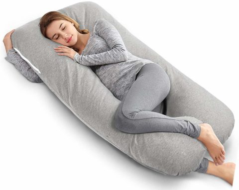 AngQi 55 Full Body Pregnancy Pillow