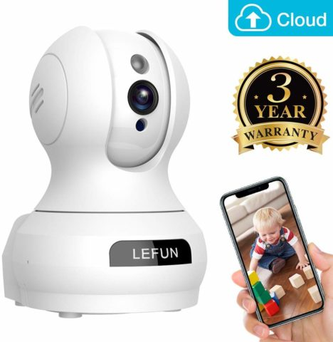 Baby Monitor, Lefun Wireless IP Security Camera