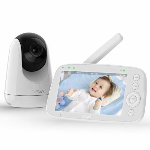 Baby Monitor, VAVA 720P 5 HD Display Video Baby