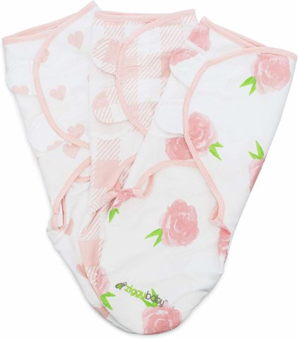 Baby Swaddle Blanket Wrap Set