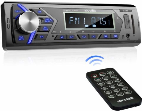 Bluetooth Car Stereo Radio Receiver