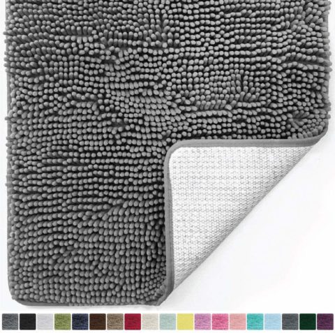 Gorilla Grip Original Luxury Chenille Bathroom