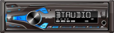 JENSEN MPR319 Single DIN Car Stereo Receiver