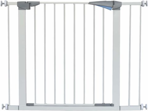 LEMKA Walk Thru Baby Gate,Auto Close Safety Pet Gate