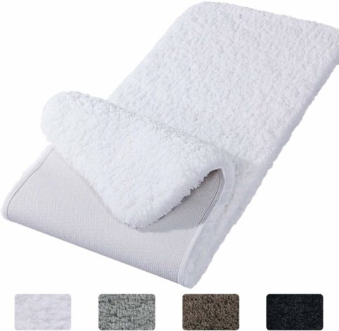 Lifewit Bathroom Rug Bath Mat Non-Slip