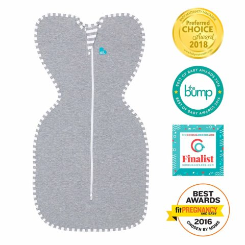 Love To Dream Swaddle UP, Gray, Medium