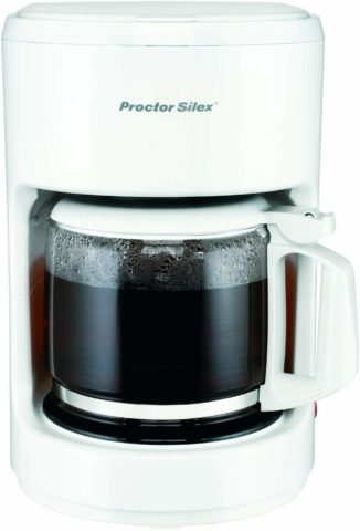 Proctor Silex Compact 10 Cup Coffee Maker