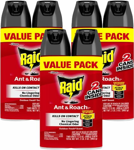 Raid Ant and Roach Outdoor Fresh Twin Pack