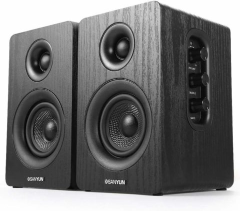 Sanyun SW208 3 Active Bookshelf Speakers