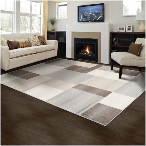 Superior Elegant Clifton Area Rug Geometric Rectangular