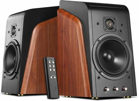 Swan Speakers - M300 - Powered Bookshelf Speakers