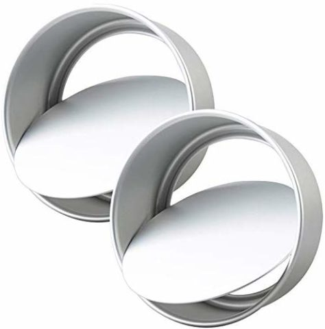 Tosnail 2 Pack 8-Inch Aluminum Round Cake Pan