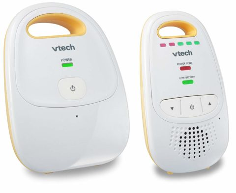 VTech DM111 Audio Baby Monitor with up