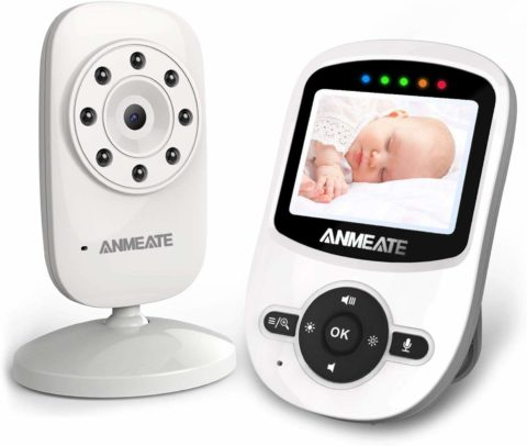 Video Baby Monitor with Digital Camera
