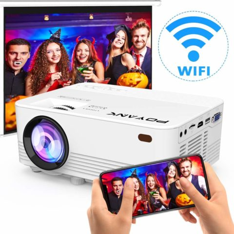 [Wireless Projector] POYANK 2800Lux LED