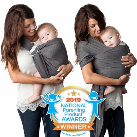 4 in 1 Baby Wrap Carrier and Ring Sling by Kids