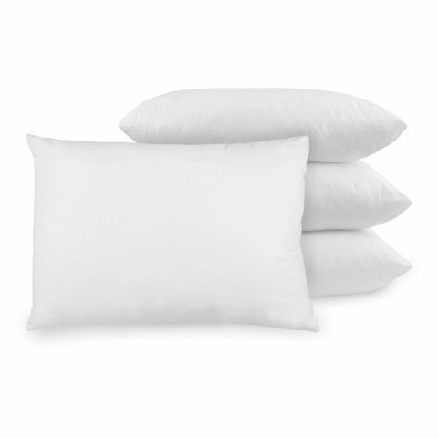 BioPEDIC 4-Pack Bed Pillows with Built