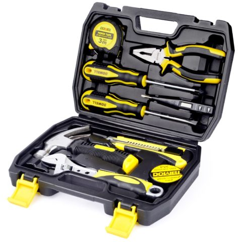 DOWELL 10 Piece Small Tool Kit,
