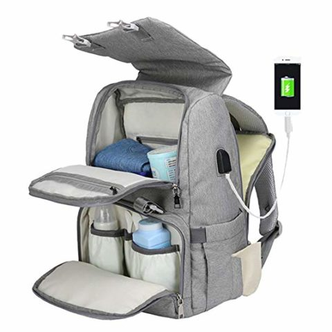 Diaper Bag Backpack for Mom
