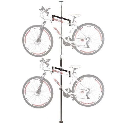 Double Vertical Bicycle Storage Hanger