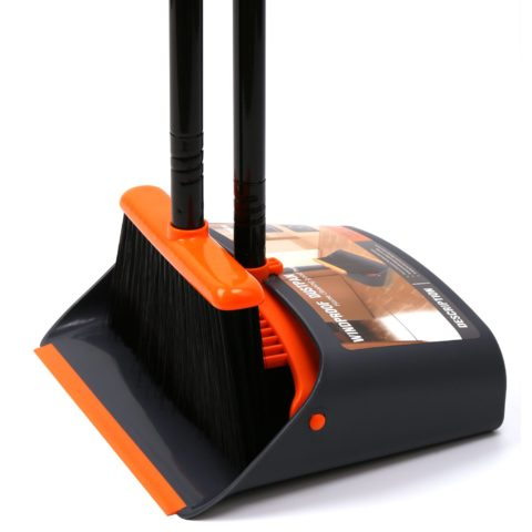 Dust Pan and BroomDustpan Cleans Broom Combo