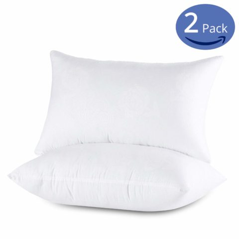 Emolli Standard Bed Pillows for Sleeping 2 Pack