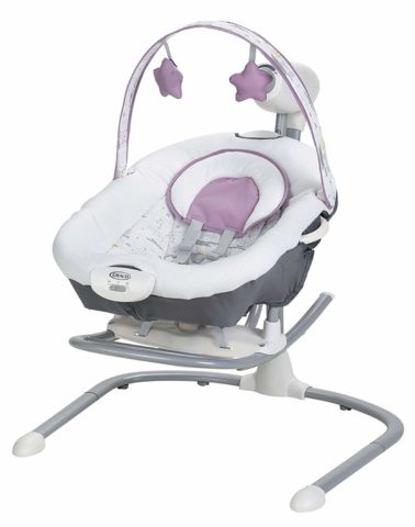 Graco Duet Sway Baby Swing with Portable Rocker