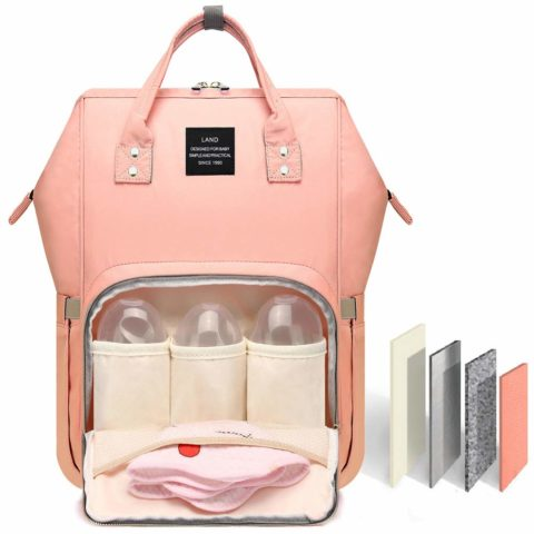 HaloVa Diaper Bag Multi-Function Waterproof