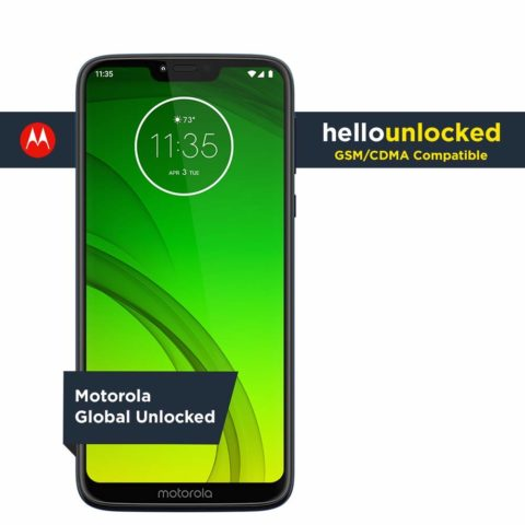 Moto G7 Power - Unlocked - 32 GB - Marine