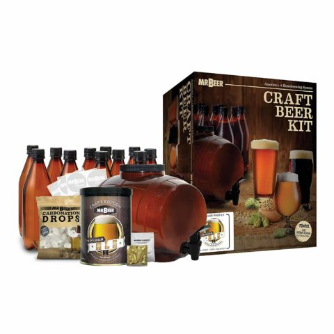 Mr. Beer 2 Gallon Complete Starter Beer Making Kit Perfect