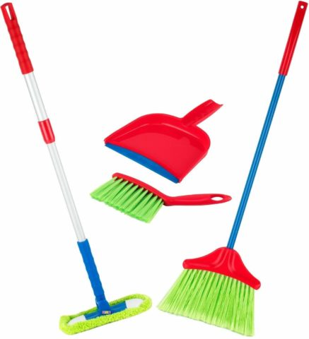 Play22 Kids Cleaning Set 4 Piece - Toy Cleaning Set
