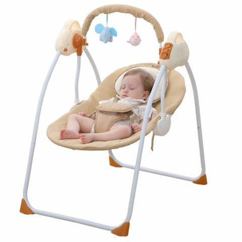 WBPINE Baby Swing Cradle, Automatic