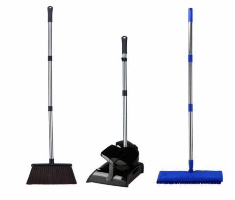 iHomey Broom and Dustpan