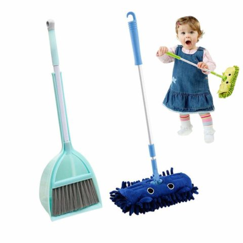 lesgos Toy Broom Set, Mini Broom