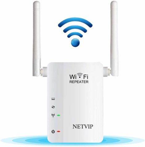 300Mbps WiFi Range Extender Signal Booster Wireless High