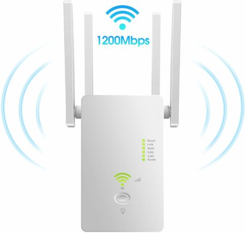 AC1200 WiFi Range Extender  Latest